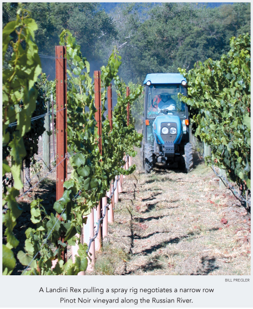 Product Review Buying Tractors For Narrow Row Vineyards