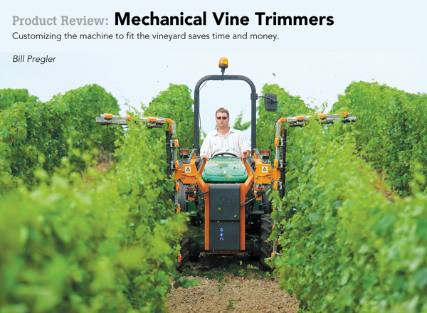 Product Review Mechanical Vine Trimmers