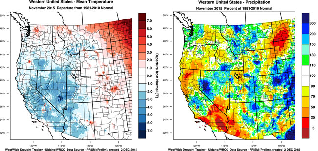 Weather and Climate Summary and Forecast: Winter 2015-16 on washington state map, united states natural resources, united states geography, average rainfall by state map, united states compass rose, united states state maps, united states coast, united states environment, louisiana product map, united states weather, new mexico land region map, louisiana resource map, united states landforms, average annual rainfall us map, weather map, usa map, north america map,