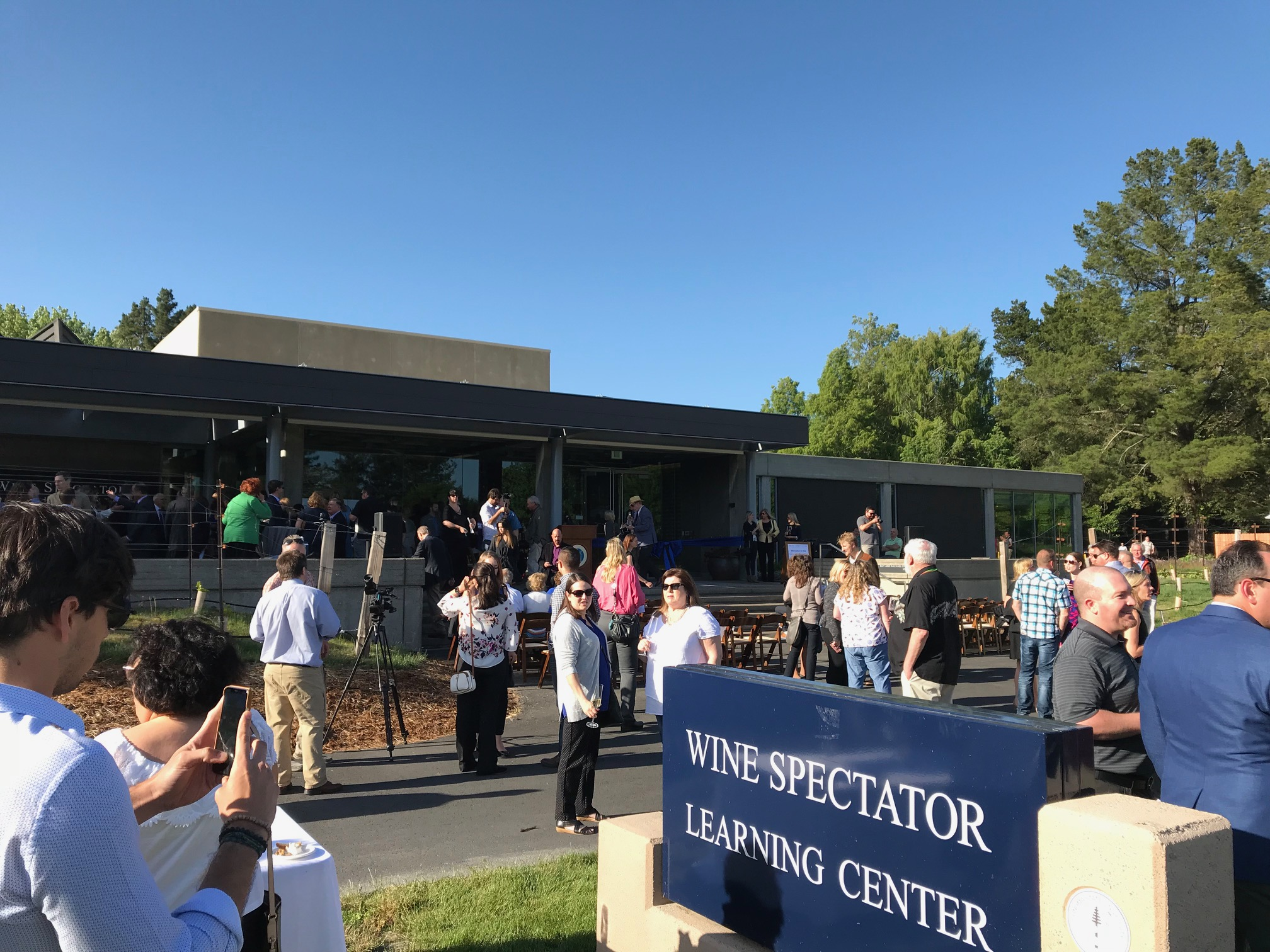 Wine Spectator Learning Center opens at Sonoma State University