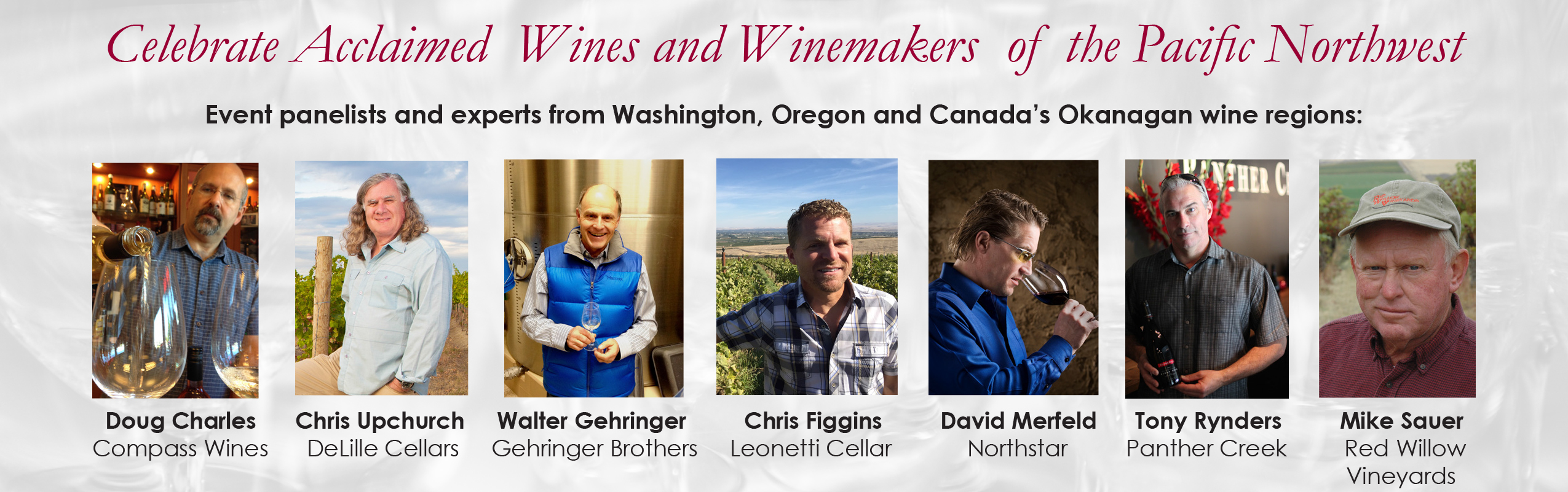 Tony Rynders Included in 2017 Northwest Wine Encounter Roster | Wine Business