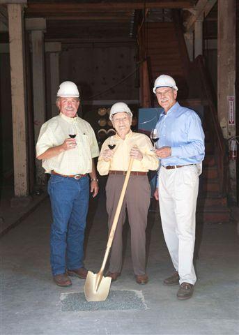 Charles Krug Winery Breaks Ground on New Hospitality Center