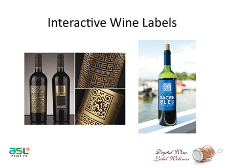 wine label webinar