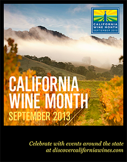 california wine month
