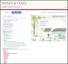 Wines & Vines 2008 Directory/Buyer's Guide Available Now in Print -- Winery and PhoneBook Quick Search Available Online