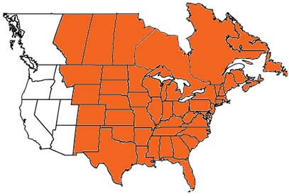 Eastern Wine Society Extends To Rockies Wines Vines - Us continental divide map
