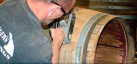 rewine barrel refinishing