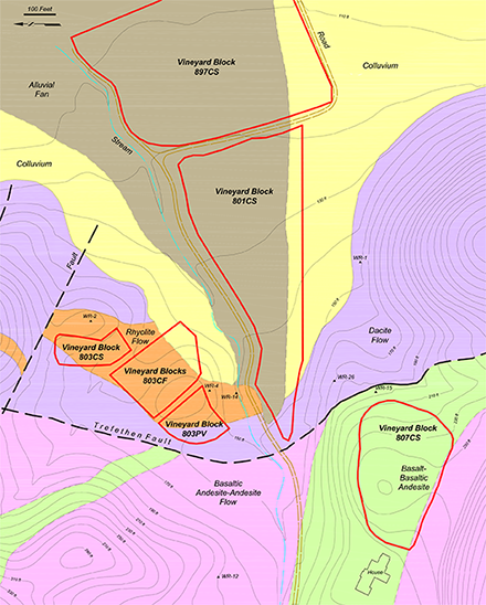 william fuchs vineyard geologic map
