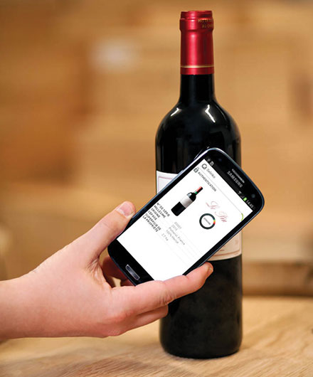 NFC chips for wine