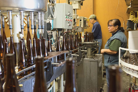 Navarro Bottling Line