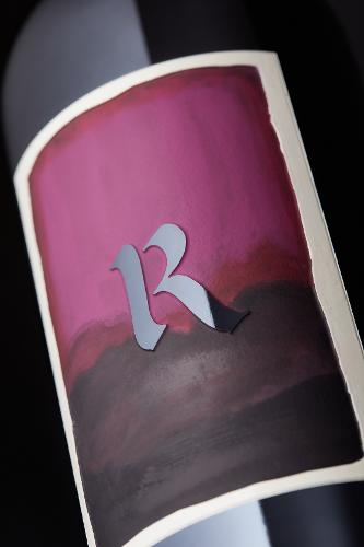 Etch: Hand painted water color replica for Realm Cellars