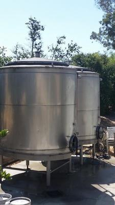 SS jacketed tanks 5000 gallons