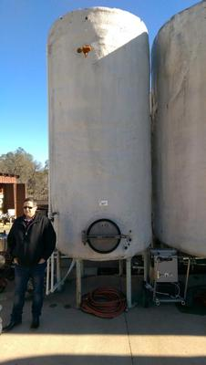 2000, 3940 and 4006 gallon Fermenting Tanks
