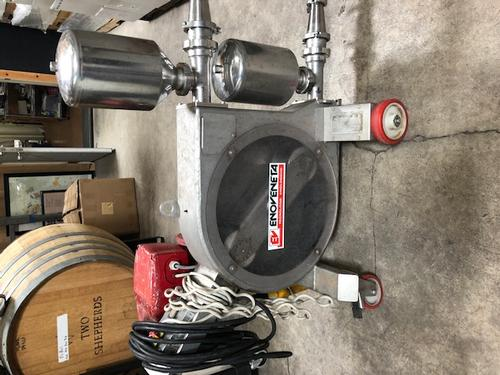 Small Winery press, pump, lab equipment for sale