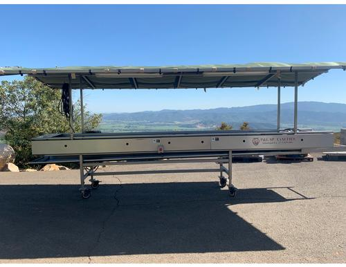 P&L Specialties - 20' Conveyor Style Sorting Table