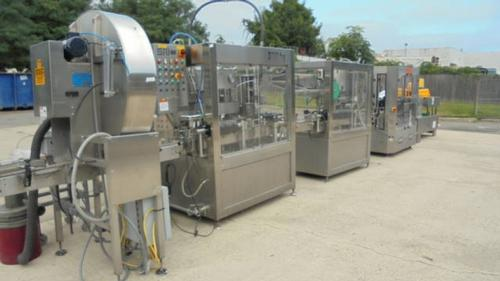 Wine Bottling Line Rated up to 60 BPM