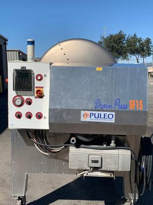 Puleo SF15 Open Tank Membrane Press