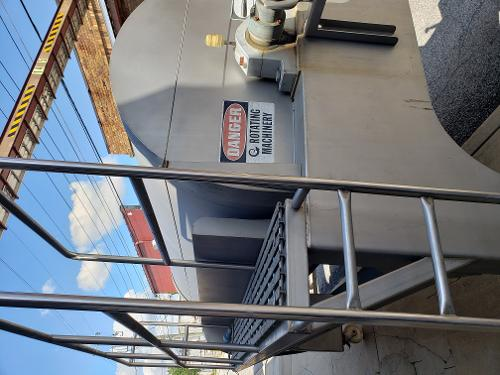 Willmes UP 5000 liter grape press