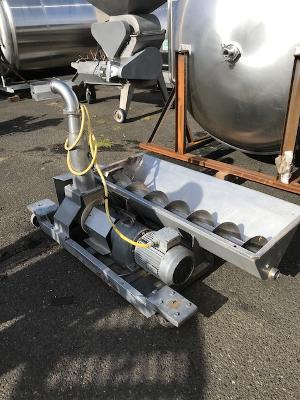 Used Destemmer Crusher with