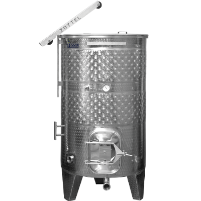 New Zottel Stainless Steel Wine Tanks For Sale!