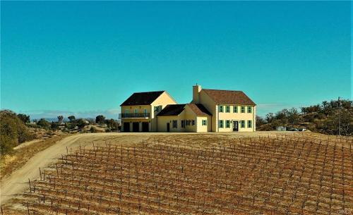 One of a Kind Vineyard Estate! Incredible home!