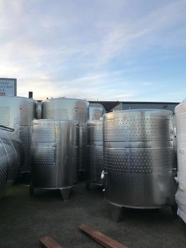 Letina 5000L (1300 Gallon) Jacketed Tanks
