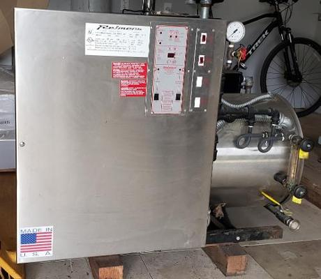 Portable 6-ton Chiller, Reimers Steam Generator